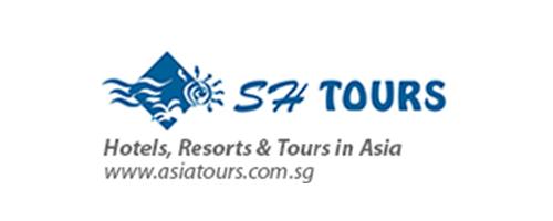 SH Tours (Singapore) 標誌